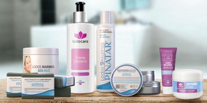 Kosmetika z léčivého bahna: mýdlo, krém i peeling