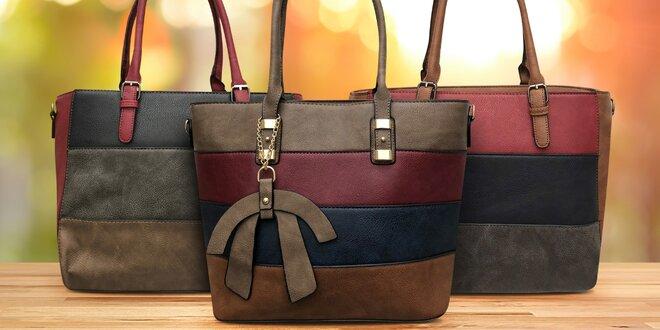 Dámské italské kabelky v podzimních barvách
