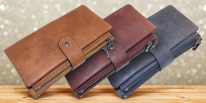 Dámské peněženky Claudia v mnoha barvách