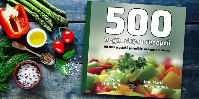 500 veganských receptů - zdravá kuchařka