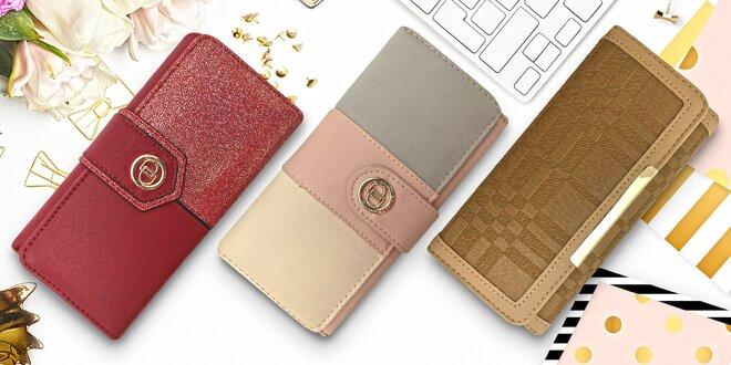 Dámské elegantní peněženky