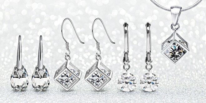 Ocelové šperky s krystaly Swarovski Elements