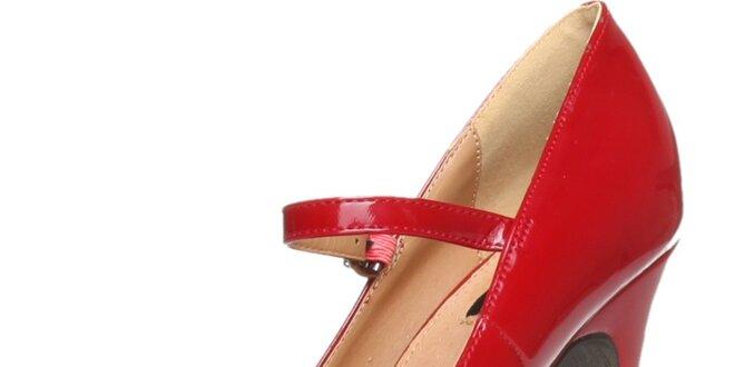 Červené lodičky Ana Lublin