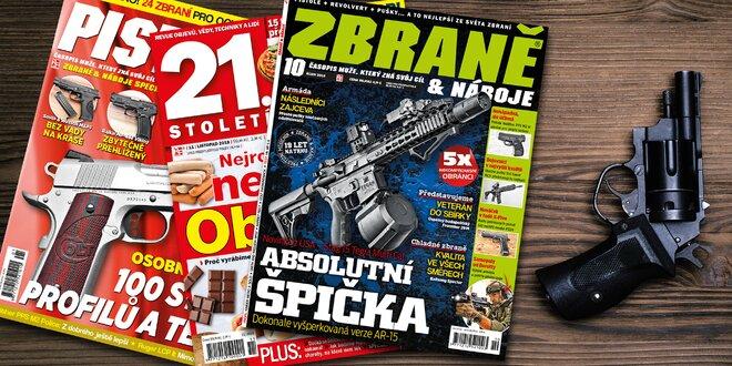 Předplatné Zbraně a náboje a el. verze 21. století