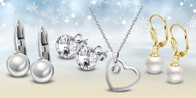 Zobrazit původní nabídku. Ocelové šperky s perlami a krystaly Swarovski® fd741d73f13