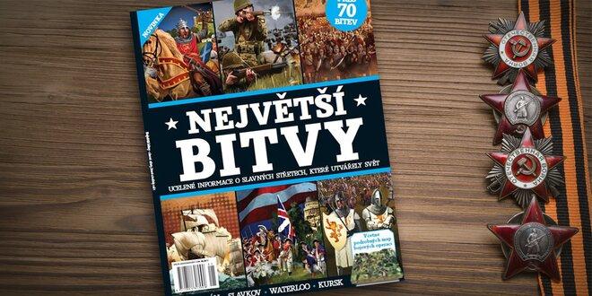 Kniha Největší bitvy: mapy, schémata, živé snímky
