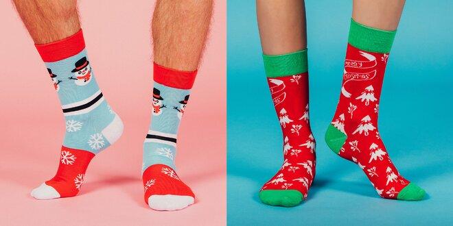 Veselé designové ponožky LØVE+FUN SOCKS