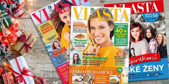 Časopis Vlasta – milý dárek pro vaše blízké