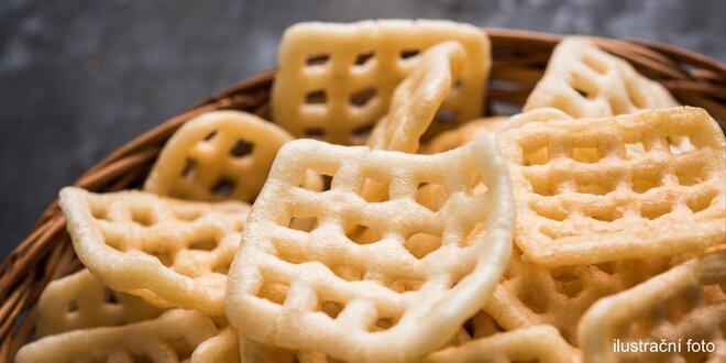 Křupavý snack k telce: usmažte si čerstvé krekry