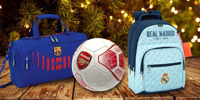 Dárky s motivy Barcelony, Arsenalu nebo Chelsea