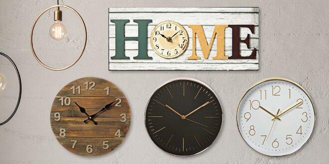 Analogové hodiny v moderním i retro stylu