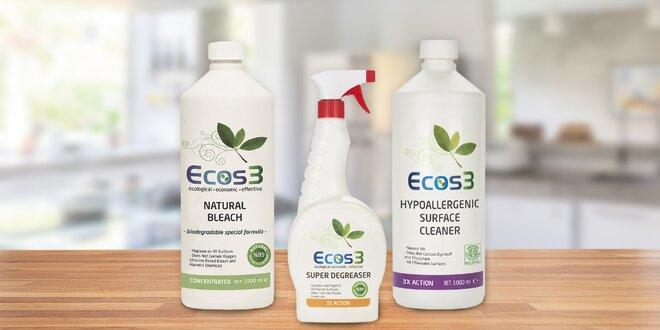 Balíček prostředků pro eko úklid domácnosti