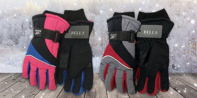 Zima s radostí: Dětské rukavice Bella Accessori