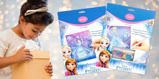 Ozdobte princeznu Elsu: kreativní sety Frozen