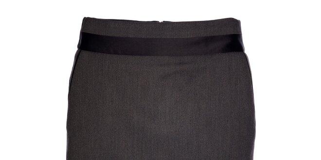 Dámská tmavě šedá pouzdrová sukně Vero Moda