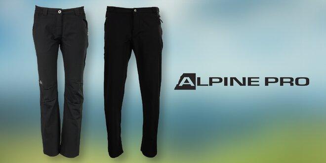 eddd84807c5 Černé pánské i dámské softshellové kalhoty Alpine Pro do každého počasí