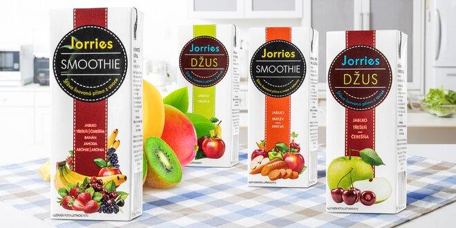 Balíček 100% ovocných smoothies a džusů