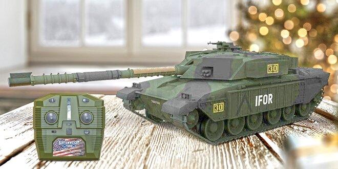 Realistické modely tanků na dálkové ovládání