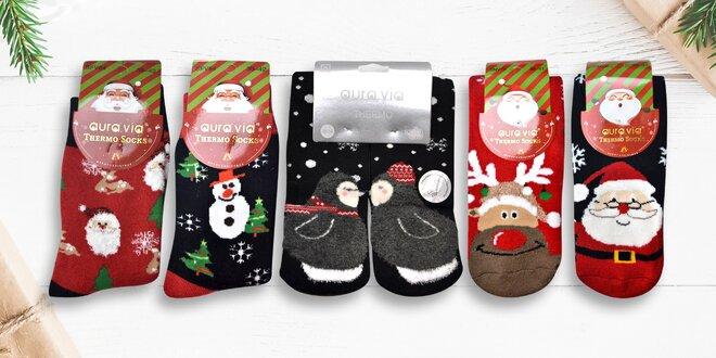 Protiskluzové vánoční dámské i pánské ponožky  c0b1709bfb