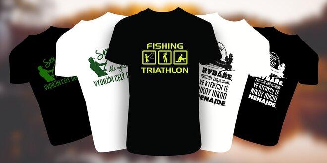 Vtipná pánská trička pro rybáře  3ebb50a902