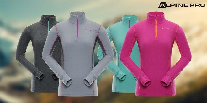 Dámská funkční trika Alpine Pro ve 4 barvách
