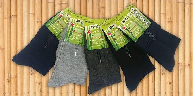 088c9ec8170 10 párů pánských vysokých bambusových ponožek
