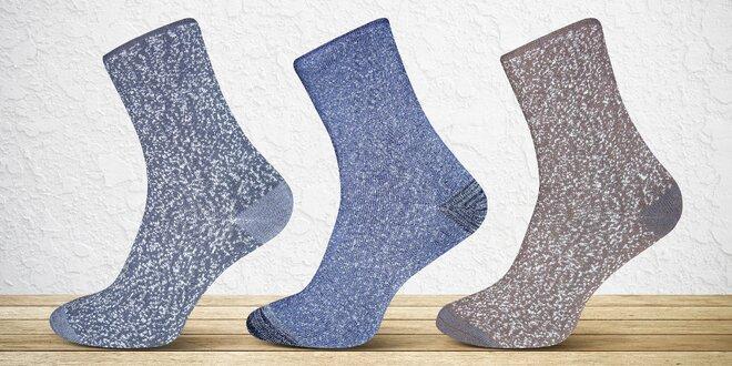 a21933234b2 6 párů pánských nebo dámských termo ponožek