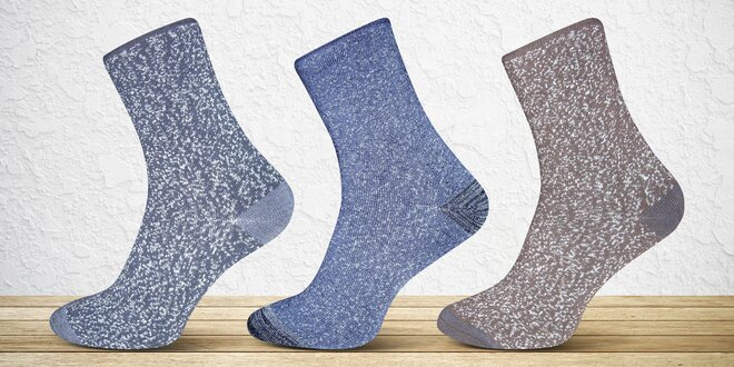 6 párů pánských nebo dámských termo ponožek  f057db55e4