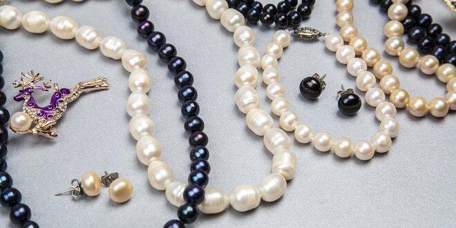 Šperky z pravých sladkovodních perel  f24e9cafed9