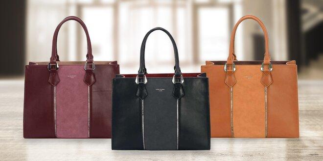 Elegantní dámské kabelky David Jones ve 4 barvách