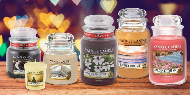 Yankee Candle v šesti vůních a třech velikostech