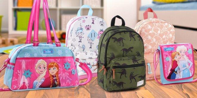 Dětské batohy a tašky: Miraculous i Frozen