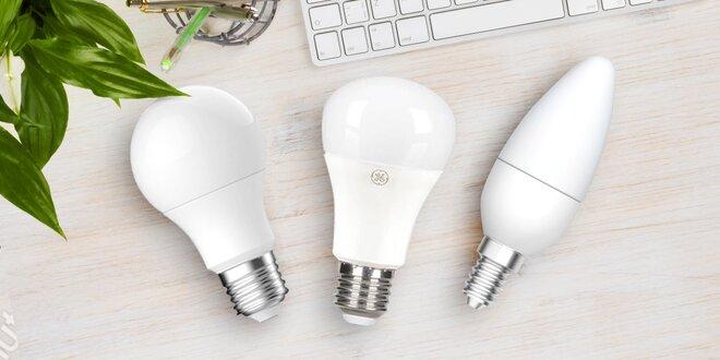 Sady šesti úsporných LED žárovek GE