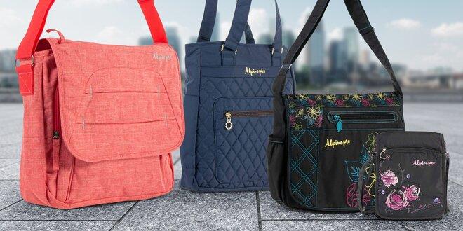 Dámské tašky Alpine Pro v mnoha stylech a barvách