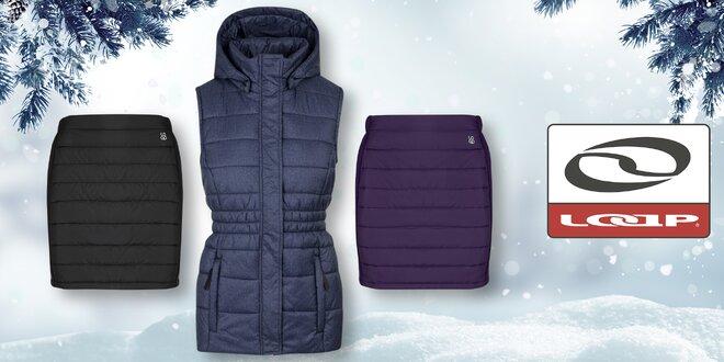 Dámská hřejivá zimní sukně a vesta Loap