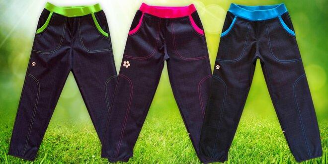 169f4d2765a Dětské jarní softshellové kalhoty značky Gudo