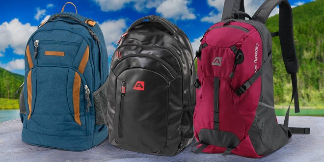 Batohy Alpine Pro do města i na výlety  bf01fcf1b4