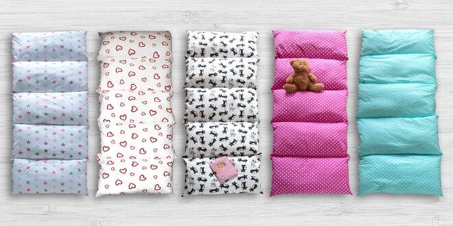 Dětské polštářové podušky HAJEE na hraní i lenošení