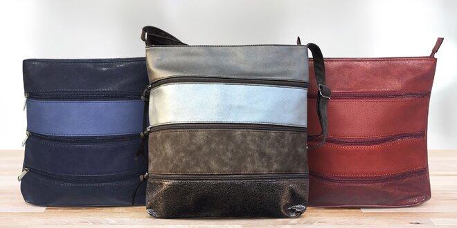 Pruhované crossbody kabelky v mnoha barvách  fdb13693a98