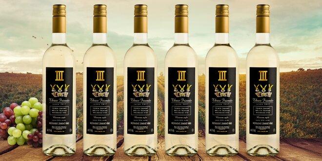 Cuvée Three Friends 2017: 3 nebo 6 lahví vína