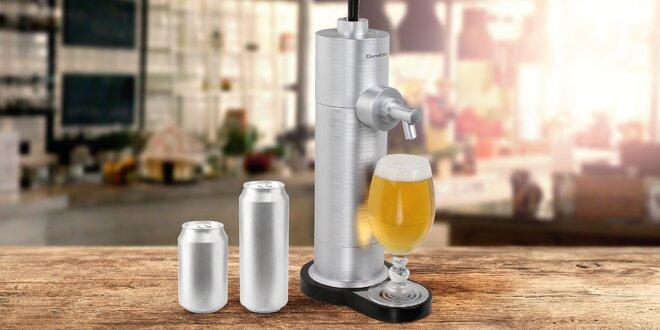 Domácí výčepní zařízení na pivo v plechovce