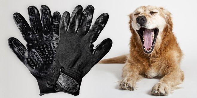 Vyčesávací rukavice pro domácí mazlíčky