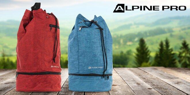 Vak Alpine Pro o objemu 7,5 l v červené a modré