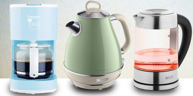 Konvice, kávovary a další pomůcky pro kávu doma
