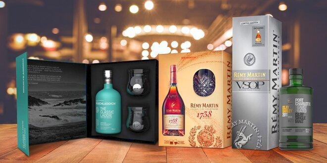 Vybrané whisky a koňaky  dárková balení i kolekce  392a0d8589