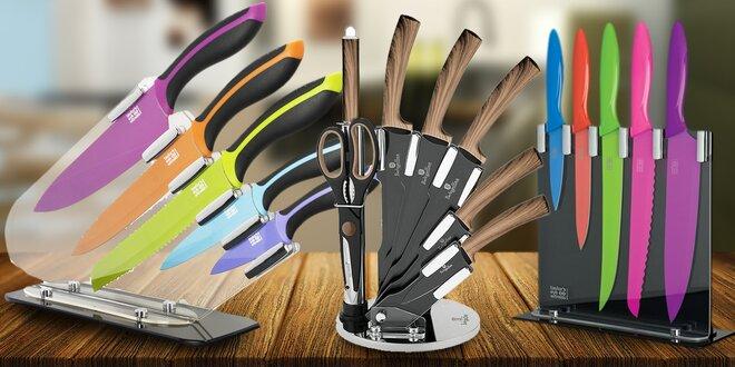Velký výběr kuchyňských nožů