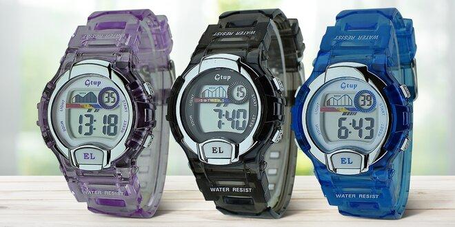 Voděodolné digitální hodinky pro děti