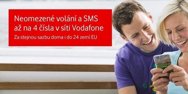 552 Kč za speciální edici předplacené karty Vodafone!