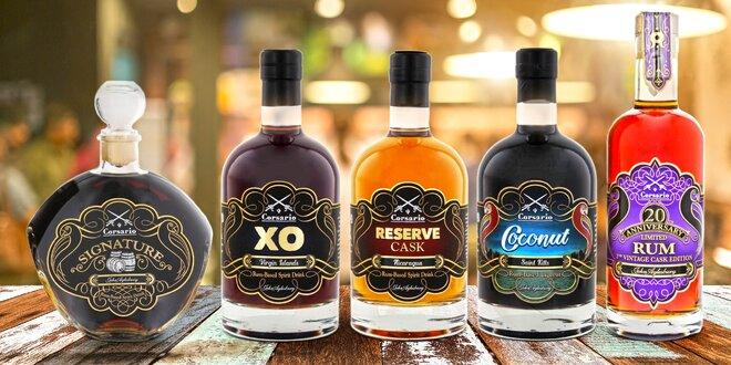 Exkluzivní rumy Corsario vč. výroční edice