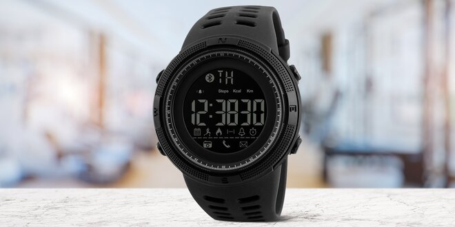 Chytré voděodolné hodinky s mnoha funkcemi  5c13198015